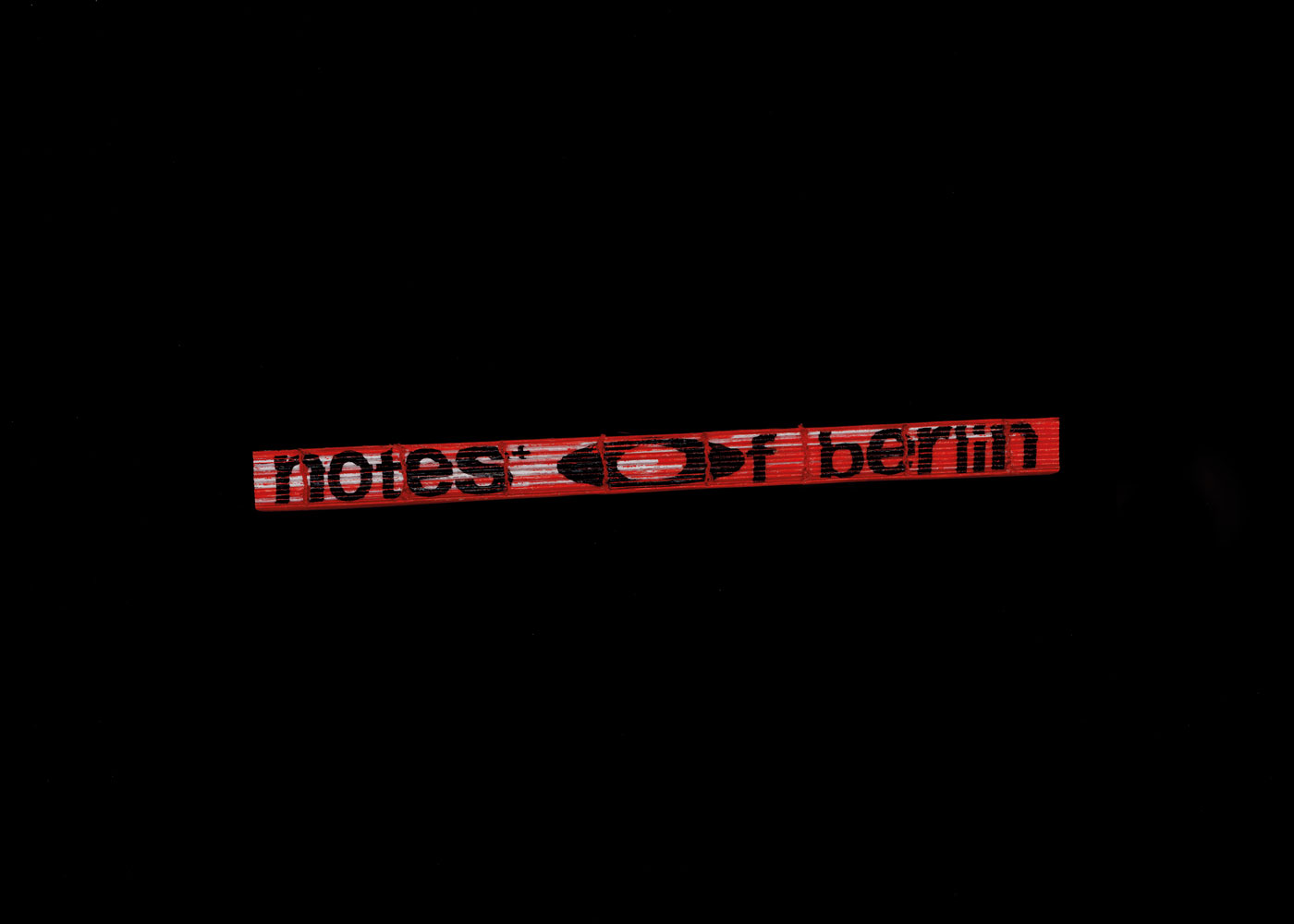 Masoud Morgan Notes of Berlin